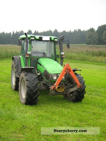 2000 Deutz-Fahr  Agroplus 85 Agricultural vehicle Tractor photo