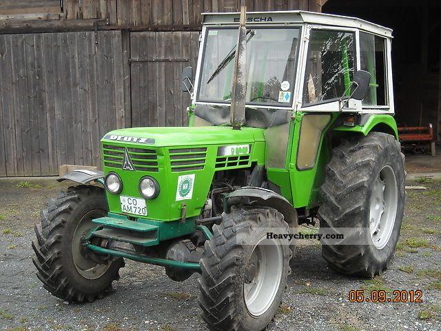 1978 Deutz-Fahr  6206 Agricultural vehicle Tractor photo
