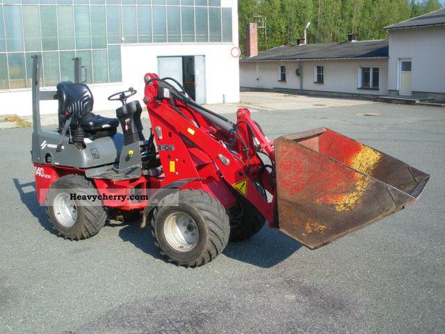 2008 Weidemann  1140 CX30 Agricultural vehicle Farmyard tractor photo