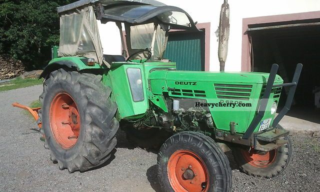 1976 Deutz-Fahr  6206 Agricultural vehicle Tractor photo