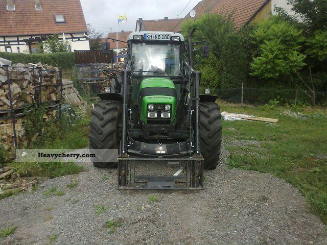 2008 Deutz-Fahr  Agrofarm 85 Agricultural vehicle Tractor photo