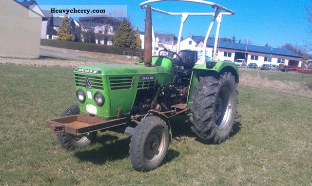 2012 Deutz-Fahr  4506 Agricultural vehicle Tractor photo