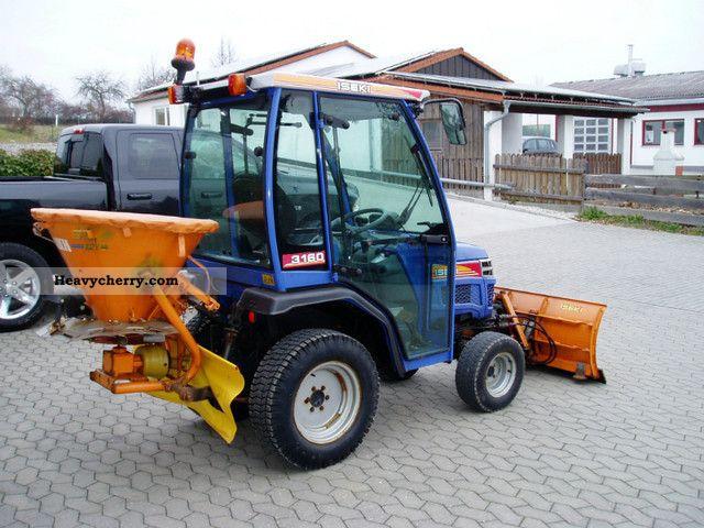 Iseki Tractor Tire Rims : Iseki wheel cab snow plow spreader