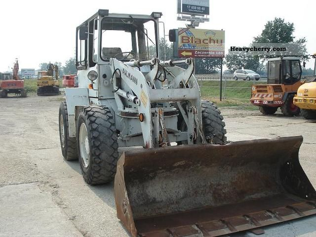 1992 Ammann  AS 7 Construction machine Wheeled loader photo
