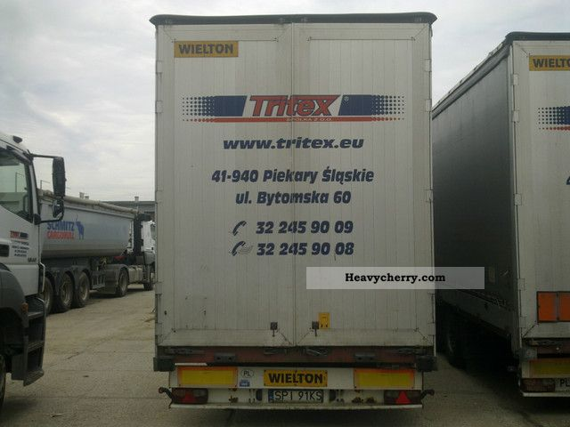 Wielton Ns 34 Ktm Mega 2004 Other Semi Trailers Photo And
