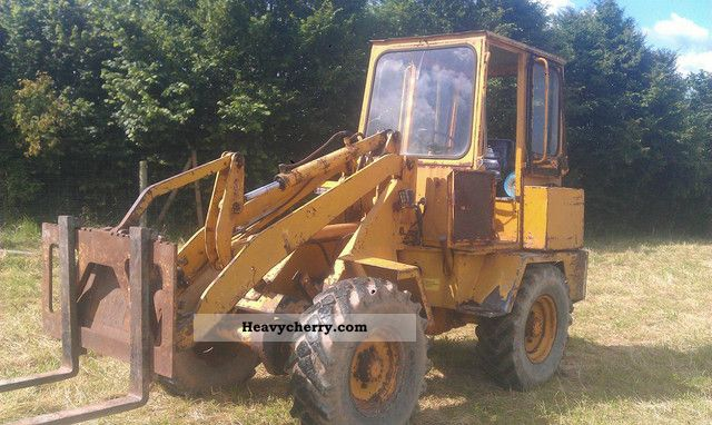 1983 Ahlmann  AL 6 Construction machine Wheeled loader photo