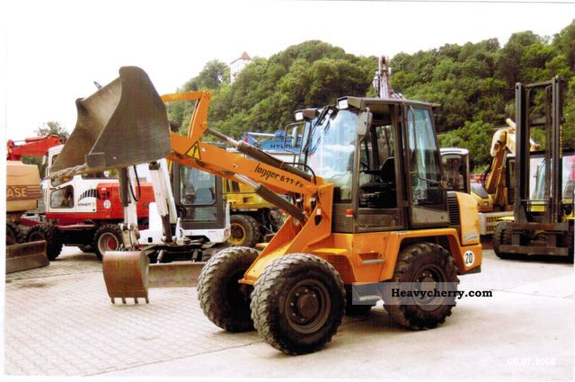2002 Ahlmann  AF 60e Construction machine Wheeled loader photo