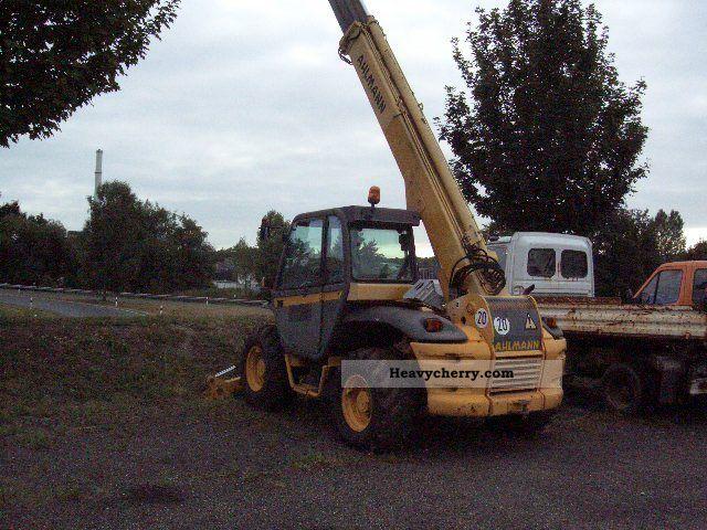 1998 Ahlmann  Telehandler AVT 1330 SLT Construction machine Wheeled loader photo