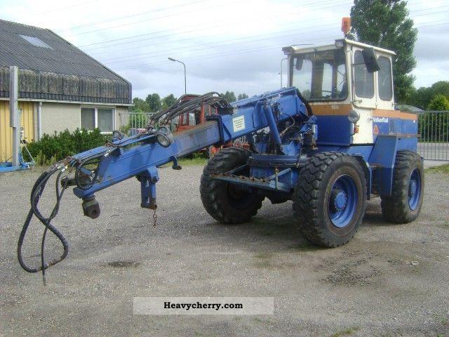 1988 Ahlmann  AZ9 Construction machine Wheeled loader photo