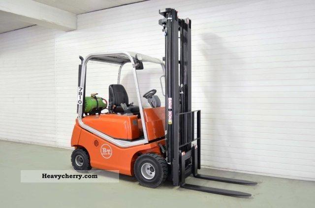 2007 BT  C4G 180D, SS, TRIPLEX, 2395Bts ONLY! Forklift truck Front-mounted forklift truck photo