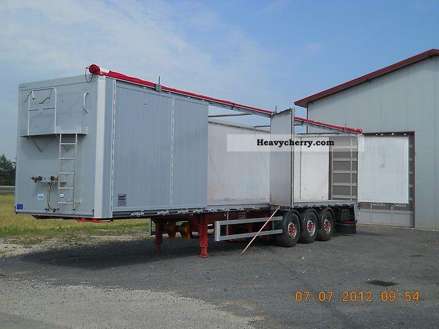 Side Door Tractor Trailer : Knapen k side doors walking floor semi trailer