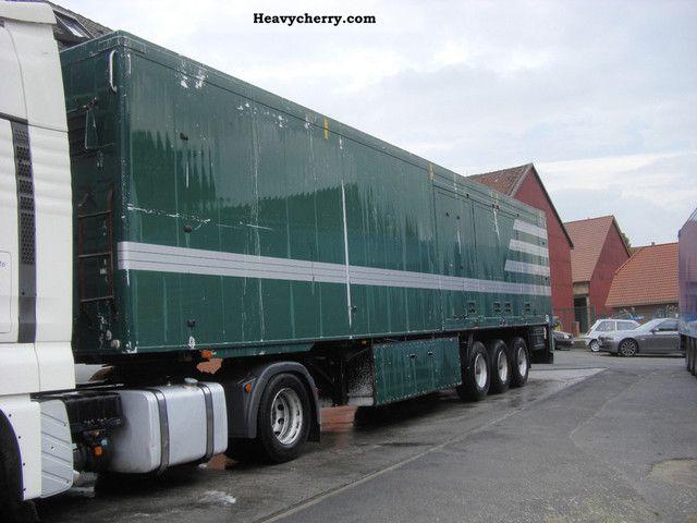 Side Door Tractor Trailer : Knapen m side doors walking floor semi trailer