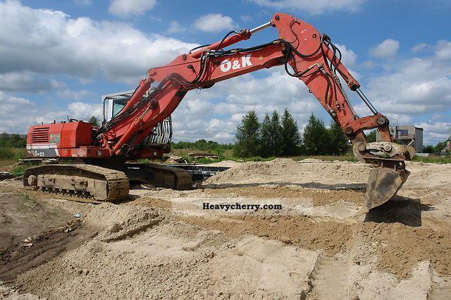 1998 O & K  O \u0026 K RH6-22 Construction machine Caterpillar digger photo