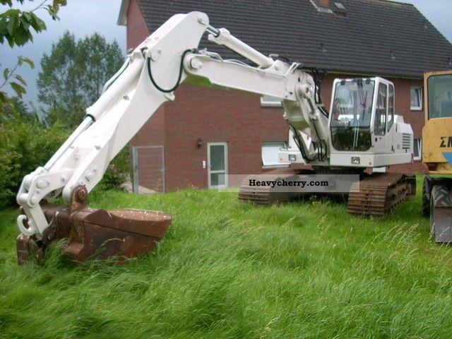 1991 O & K  O \u0026 K Crawler Excavator / Crawler Excavator RH 6 Construction machine Caterpillar digger photo