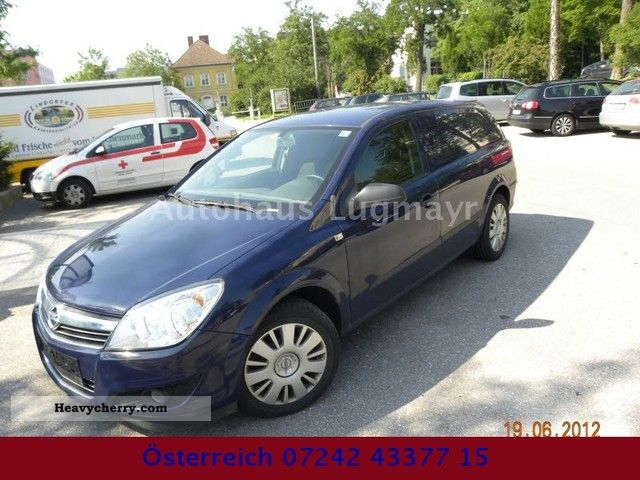 2008 Opel  ASTRA VAN 1.9 CDTI 3145 -. Net climate 6th gear Van or truck up to 7.5t Estate - minibus up to 9 seats photo