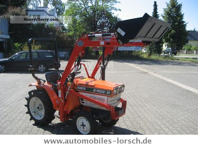 2012 Kubota  B - 1500 .. 2 - 4x4 - 3 cylinders Agricultural vehicle Farmyard tractor photo