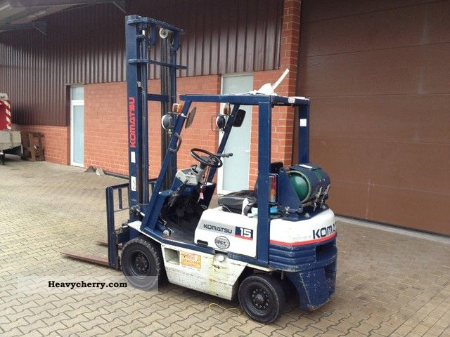 Komatsu Fg 15 Sideshifts Height 4800mm 1995 Other Forklift
