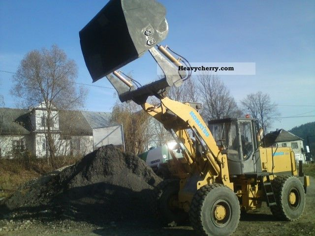 2012 Komatsu  2003r. CAT JCB VOLVO Construction machine Wheeled loader photo