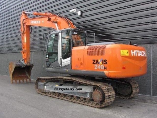 2008 Hitachi  ZX 240 N-3 Construction machine Caterpillar digger photo