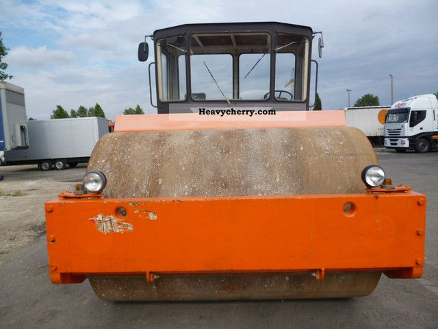 1980 Hamm  H2501 Construction machine Rollers photo