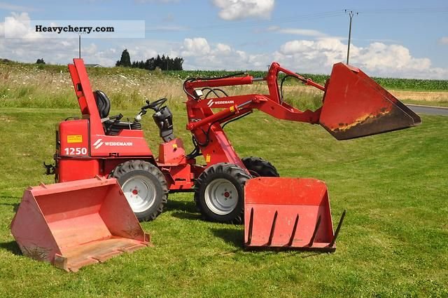 2004 Weidemann  Skid-1250 P34 Agricultural vehicle Other agricultural vehicles photo
