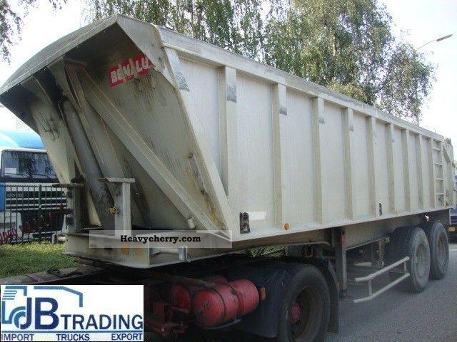 1993 Benalu  Original Semi-trailer Tipper photo