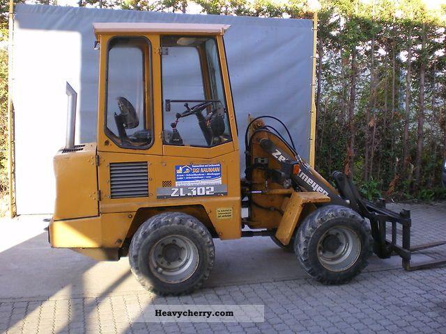 1995 Zettelmeyer  ZL 302 Construction machine Wheeled loader photo
