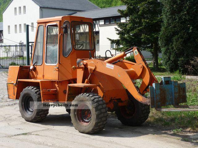 2012 Zettelmeyer  ZL 501 many attachments Construction machine Wheeled loader photo