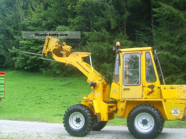 1987 Zettelmeyer  601 Construction machine Wheeled loader photo