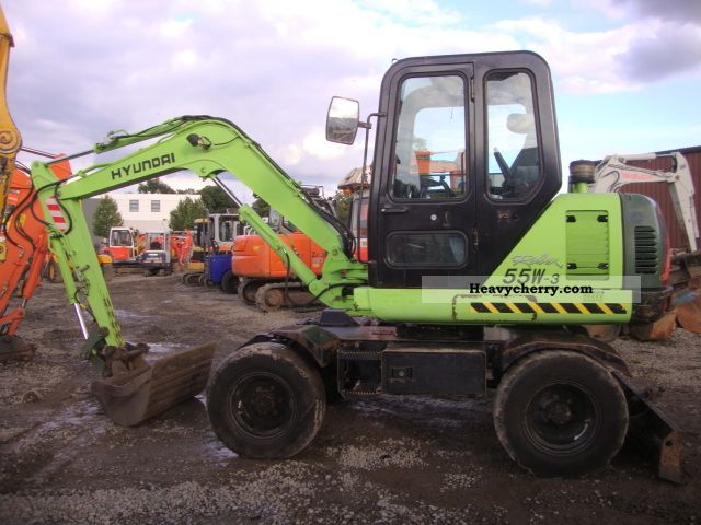 2003 Hyundai  55W-3 Construction machine Mini/Kompact-digger photo