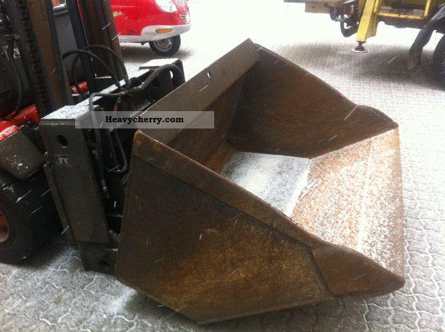2000 Linde  Bulk loading bucket H30 - H50 Forklift truck Front-mounted forklift truck photo