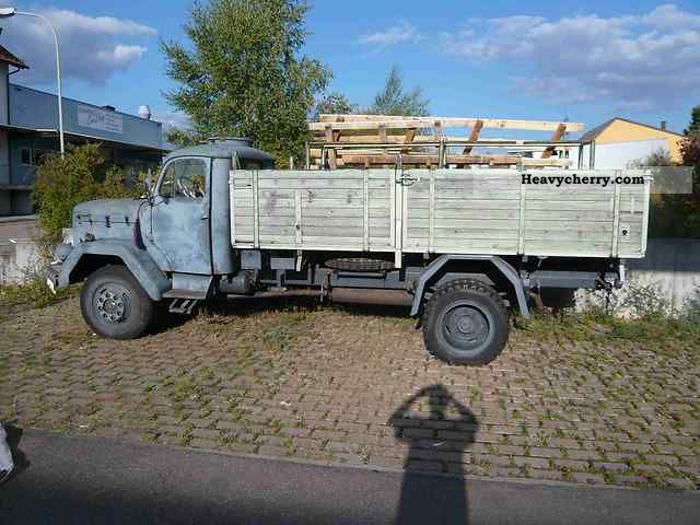 1966 Magirus Deutz  Magirus 120 D Truck over 7.5t Stake body and tarpaulin photo