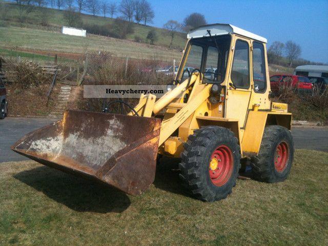 1990 Kramer  312 ** Fully Working ** Construction machine Wheeled loader photo