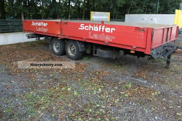 2000 Kroeger  Tandem trailer Trailer Stake body photo