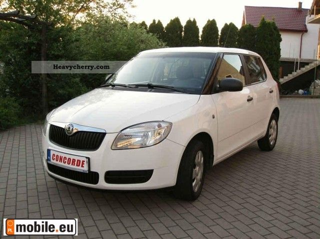 2008 Skoda  Fabia 1.4TDI homologacja! climate F.Vat Van or truck up to 7.5t Other vans/trucks up to 7 photo