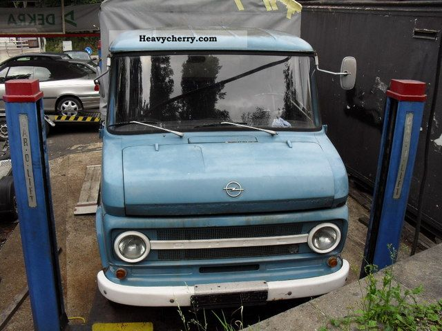 1971 Opel  Blitz 330-6H Van or truck up to 7.5t Stake body and tarpaulin photo
