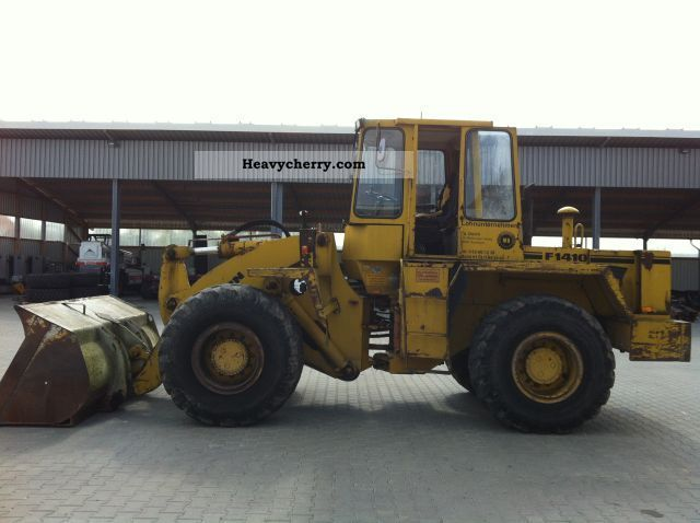 1987 Faun  1410 Construction machine Wheeled loader photo