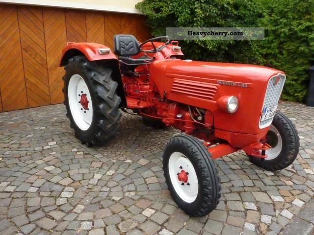 1966 Guldner  Güldner G 40 Agricultural vehicle Tractor photo