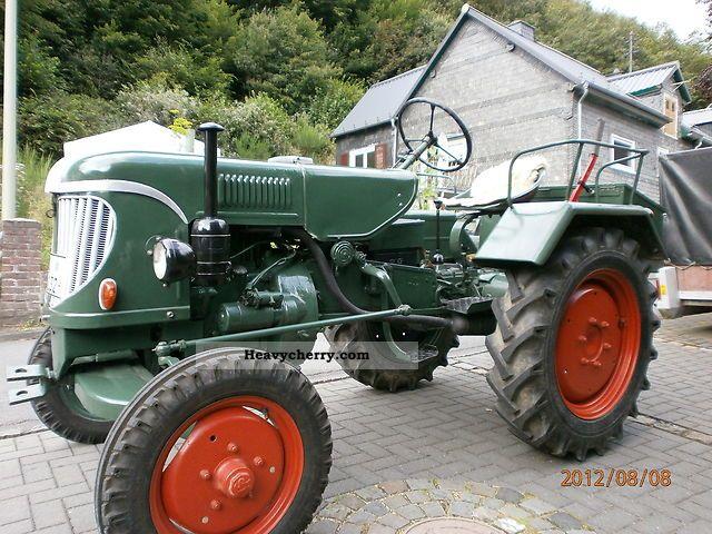 1956 Guldner  Güldner ALK 9W Agricultural vehicle Tractor photo