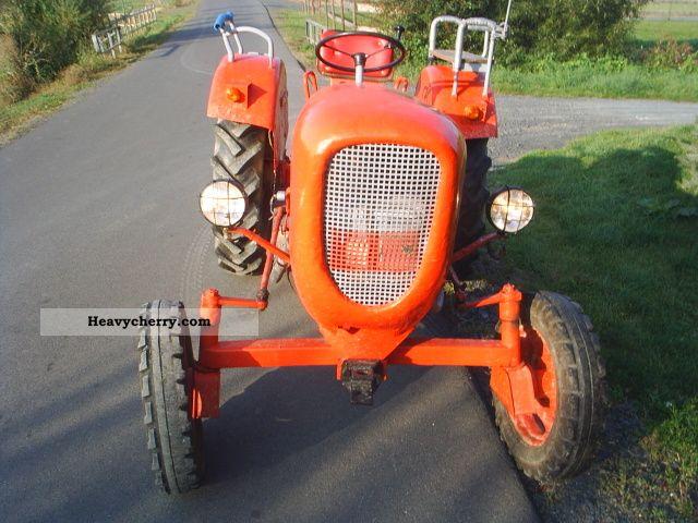 1959 Guldner  Güldner AB10 Agricultural vehicle Tractor photo