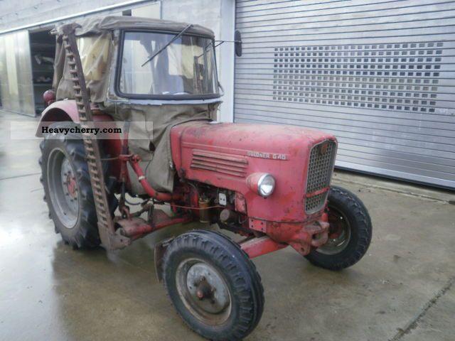 1967 Guldner  Güldner G 40 Agricultural vehicle Tractor photo