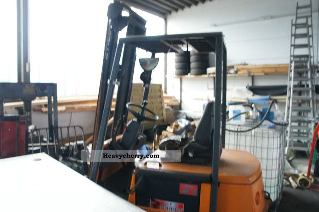 2012 Still  60 R 16 electric forklift Forklift truck Front-mounted forklift truck photo