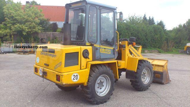 1991 Zettelmeyer  602 Construction machine Wheeled loader photo