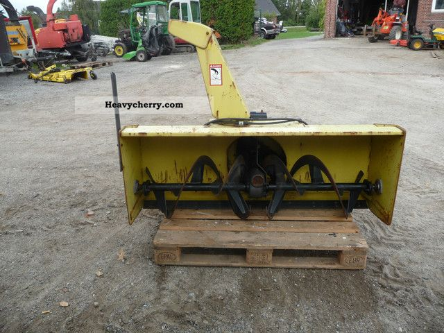 2012 John Deere  Snowblower John Deere Agricultural vehicle Other substructures photo