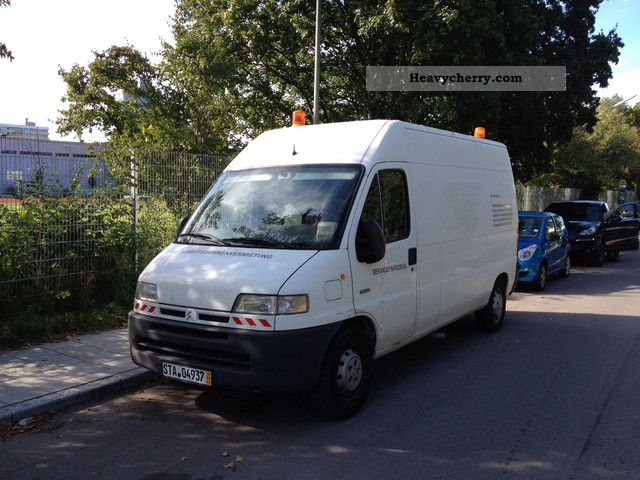 2012 Citroen  Citroën Jumper 2.8 HDI Maxi Long 1Hand only 92000 Orig Van or truck up to 7.5t Box-type delivery van - high and long photo