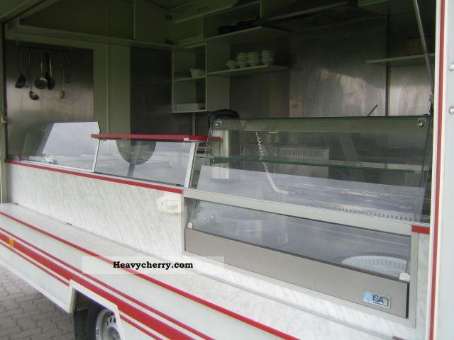 Hoffmann Snack Vendor Trailer Refrigerator Bar Grill
