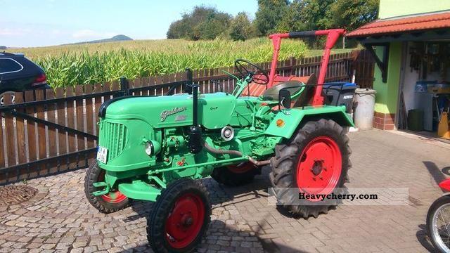1957 Guldner  Güldner ADN9WK Agricultural vehicle Tractor photo