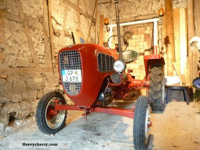 1957 Guldner  Güldner AX8 Agricultural vehicle Tractor photo