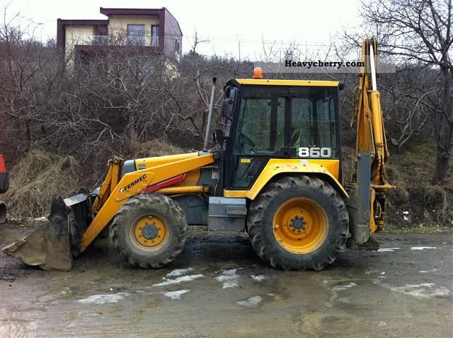 Mf 860 1998 Mobile Digger Construction Equipment Photo And Specs