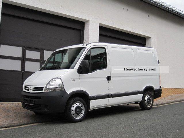 2008 Nissan  Interstar 2.5 dCi Van / AHK / Euro 4 Van or truck up to 7.5t Box-type delivery van photo